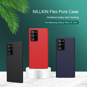 Frosted Hard PC Textured Slide Camera Lens Protect Flip Leather Liquid Case for Samsung Galaxy Note 20 Series