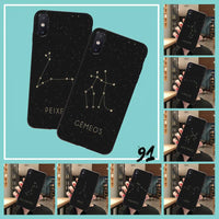 12 Constellation Zodiac Signs Phone Case For iPhone 11 Pro Max
