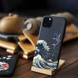 3D Art Case Relief Embossed Carp Cat Matte Soft Back Cover Case For iPhone 11 Pro Max 1