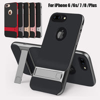 Shockproof Rugged Hybrid KickStand Cover for iPhone 11 Pro Max XR X Xs 6 6s 7 8
