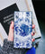 Blue-White Porcelain Tempered Glass Cover Phone With Strap for iPhone X XS 8 7 Plus 6 6s