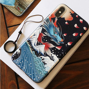 New 3D Art Case For iPhone X XS XS Max 8 7 6 Plus