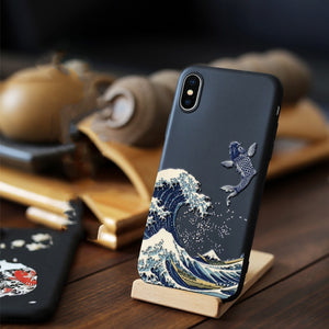 3D Art Case For iPhone X XS XS Max 8 7 Plus