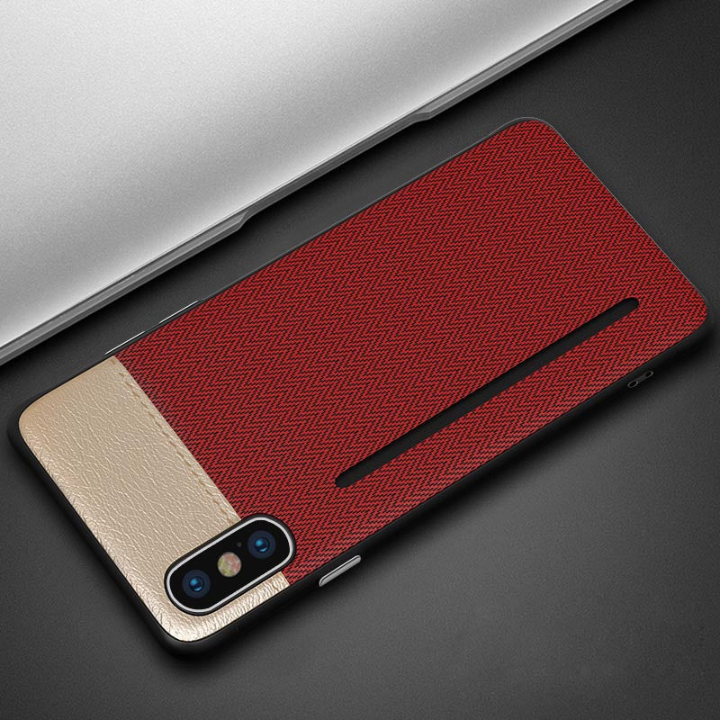 quality design 0dede 098a7 Super Slim Card Holder Leather Phone Case For iPhone X XS XR XS MAX 6 7 8  plus