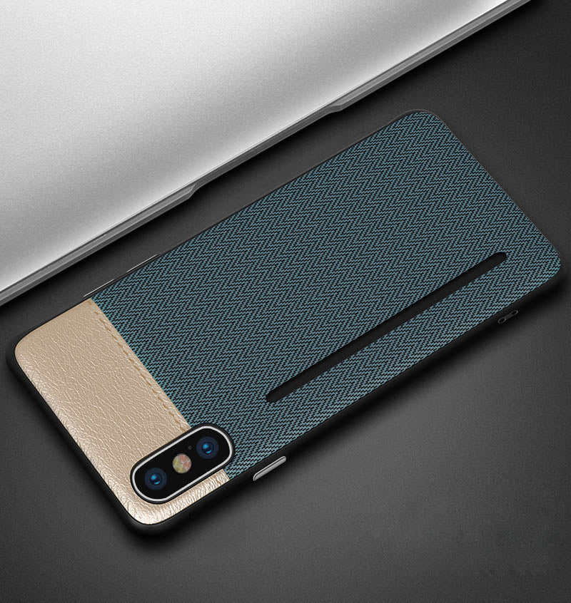 6be2b335a Super Slim Card Holder Leather Phone Case For iPhone X XS XR XS MAX 6 7