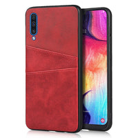 PU Leather Card Wallet Case for Samsung Galaxy Note 10 S10 S9