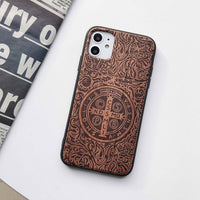Wooden iPhone 12 pro max case