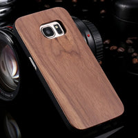 Samsung Galaxy S8 S9 Plus Real Wooden Case