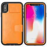 Magnetic Adsorption Multi-function Hard Frame Bumper For iPhone X XS Max