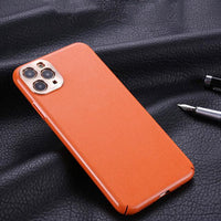 Luxury Fashion Leather Soft Silicon Waterproof Case For iPhone 11 Series