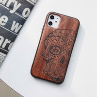 iPhone 12 Mini case Wooden