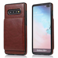 Business fashion protection leather case for Samsung Galaxy S10 S10 Plus S10e
