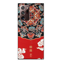 3D Dragon Emboss Soft TPU Silicone Back Cover For Coque Samsung Note 20 Series