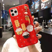 Lucky Cat Maneki Neko back cover For iPhone 11 11 Pro Max