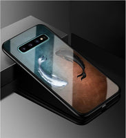 Art Glass Hard Back Cover For Samsung Galaxy S10 S10 Plus S10e