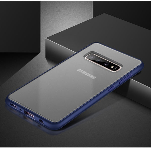 Anti Fingerprin Shockproof Cover For Samsung Galaxy S10 Note 10 Series