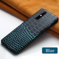 Leather S20 Ultra Case
