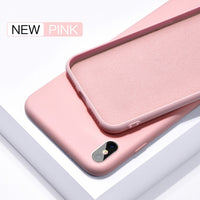 Liquid Silicone Official Silky Soft Touch Heavy Duty Protection Case For SamSung Galaxy S10 Note 10 Series