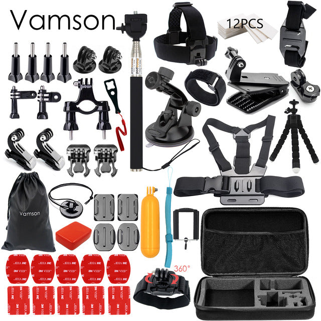 Accessories set for GoPro