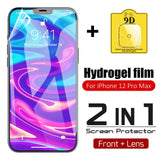 Hydrogel Film Screen Protector Camera Glass Lens Film For iPhone 12 Series