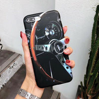 AMG Tire Design Soft Silicon Case for iPhone 6 6s 7 8 Plus X XS XR Max