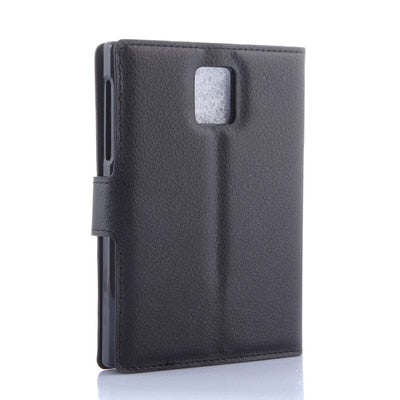 Fashion Leather Wallet Case For Blackberry Passport Q30