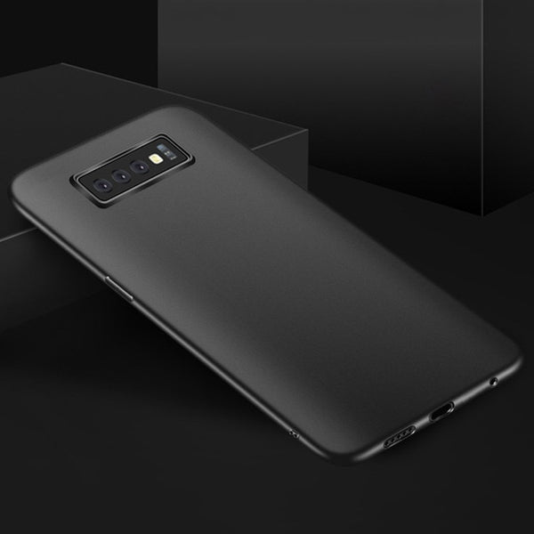 Slim Matte Soft Cover Case For Samsung Galaxy S10 S10 Plus S10e