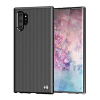 Stripe Soft Carbon Fiber Pattern Case For Samsung Note 10 10 Pro S10 S10 Plus S10e S10 5G S9 S8