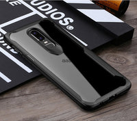 Luxury Clear Back Cover Anti-knock For OnePlus 6 6T