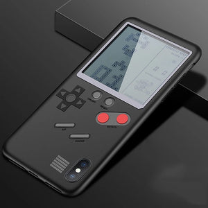 Gameboy Tetris Phone Case For iPhone X 8 7 Plus
