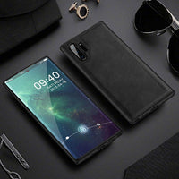 Leather Soft Silicone Edge Case For Samsung Galaxy Note 10 Note 10 Plus