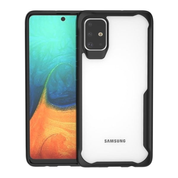 Transparent Silicone Shockproof Case for Samsung Galaxy S10 Note 10 Plus