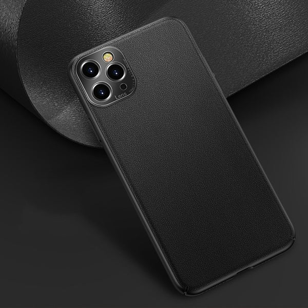 Business Luxury Leather Shockproof Case For iPhone 11 Series