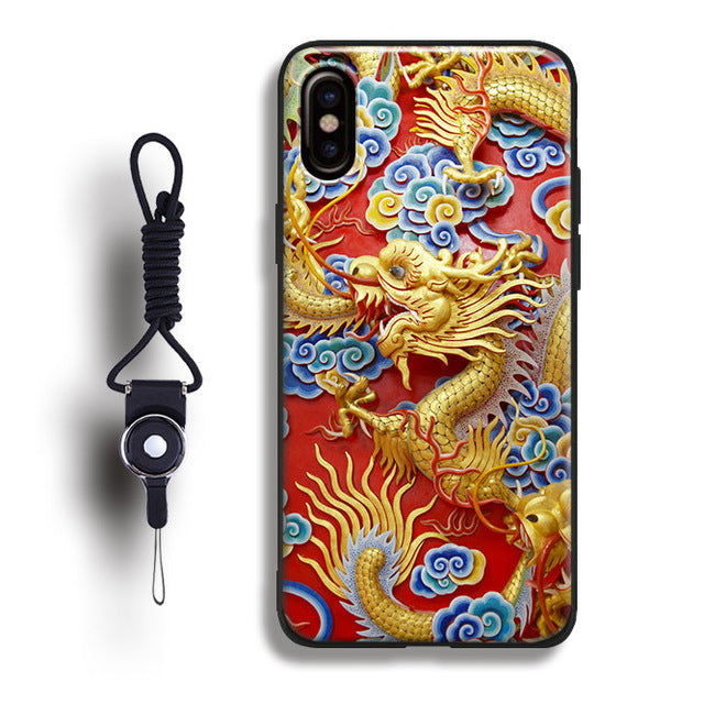 iphone xr coque dragon