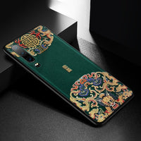 Emboss Leather Phone Case For Huawei P20 P30