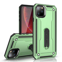 Luxury 360 Full Protect Texture Rotation Bracket Case Hard TPU Shockproof Cover for iPhone 11 XS MAX XR X