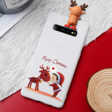 Christmas New Year Deer Santa Claus Case For Samsung Galaxy S10 Series Note 10 Series
