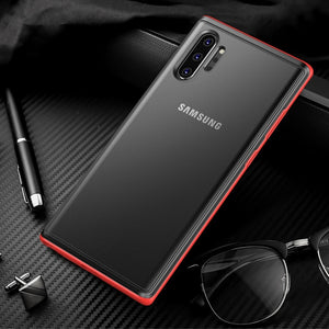 Matte Translucence Hybrid Plastic For Samsung Galaxy Note 10
