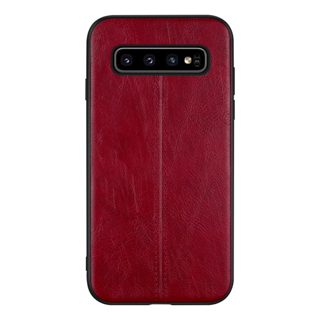 Luxury PU Leather Case For Samsung Galaxy S10 S10 Plus S10E S9 S9 Plus Note 8 9