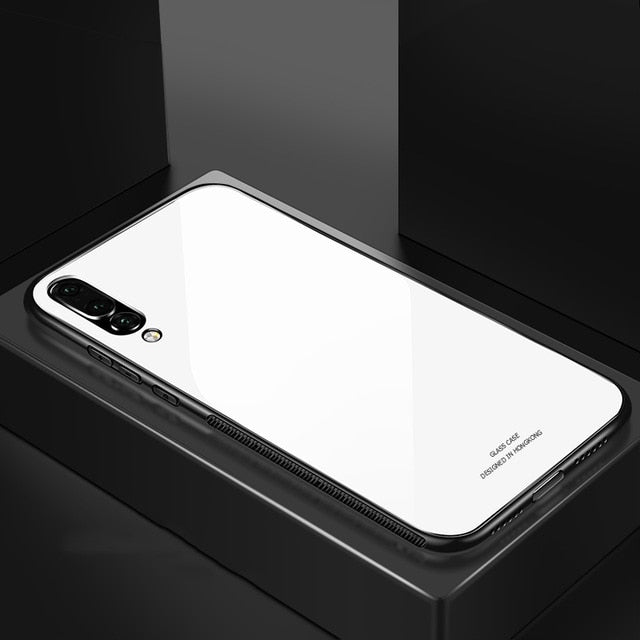 For Samsung Galaxy A7 2018 Case Luxury Slim Fit - The