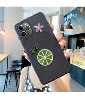 Luxury Embroidery 3D Fashion Soft Silicone Case For iPhone 11 Series