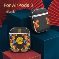 Luxury Silicone Shockproof Case For Apple Air Pods Pro Chinese Style