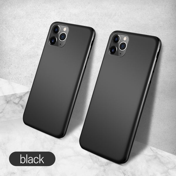 Ultra-thin Magnetic Liquid Soft Silicone Case For iPhone 11 Series