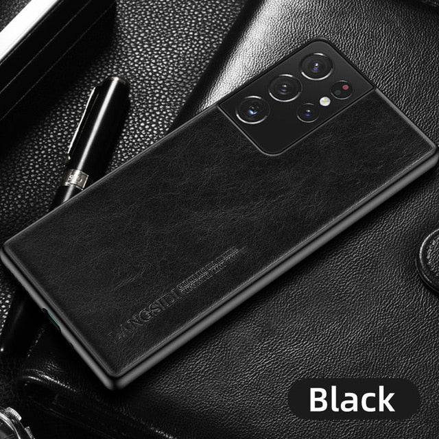 Galaxy S21 Ultra Leather Case 11