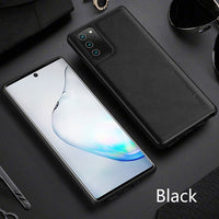 Soft Silicone Luxury PU Leather Case For Samsung Note 20 & Note 20 Ultra