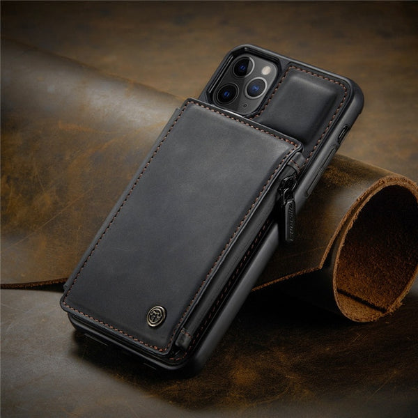 iPhone12 Pro Max Leather Wallet Case 3