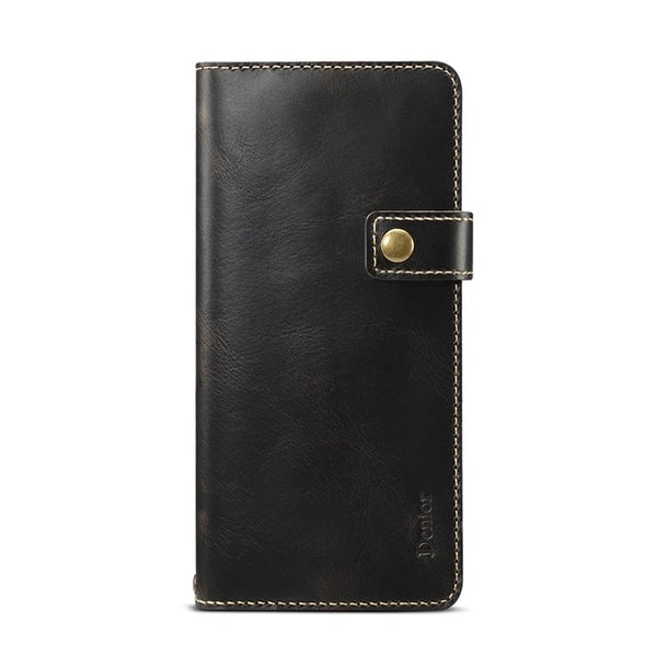 Retro Luxury Genuine Leather Holster Case for Samsung Galaxy S20 Series