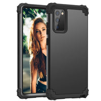 3 in 1 Shockproof Hybrid Hard Rubber Impact Armor Case For Samsung Galaxy Note 20 Series