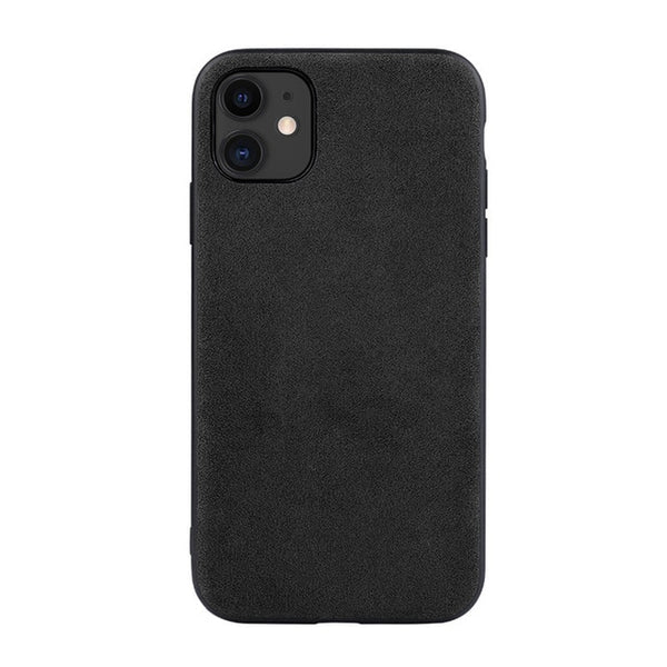 Luxury Artificial Leather Business TPU Phone Case for iPhone 11 Series