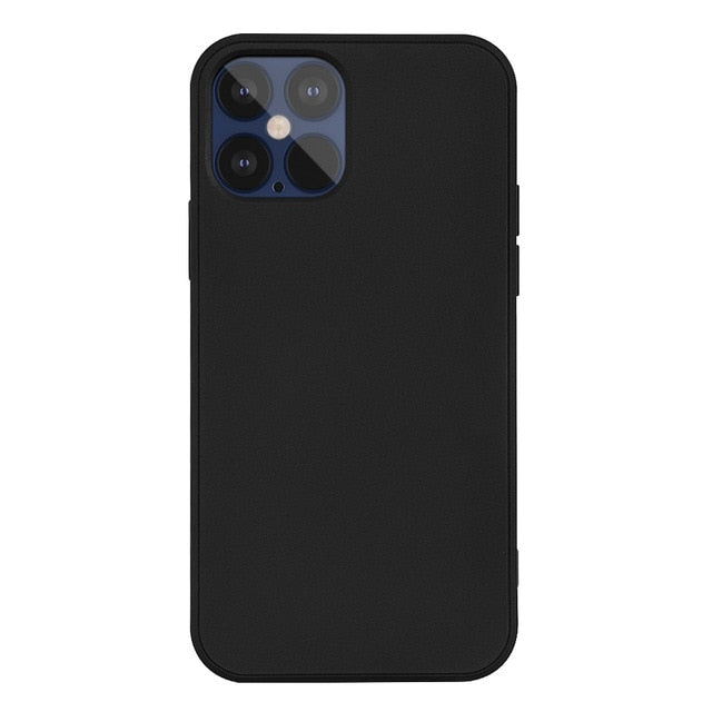Original Official Soft Liquid Silicone Phone Case For iPhone 11 & 12 Series